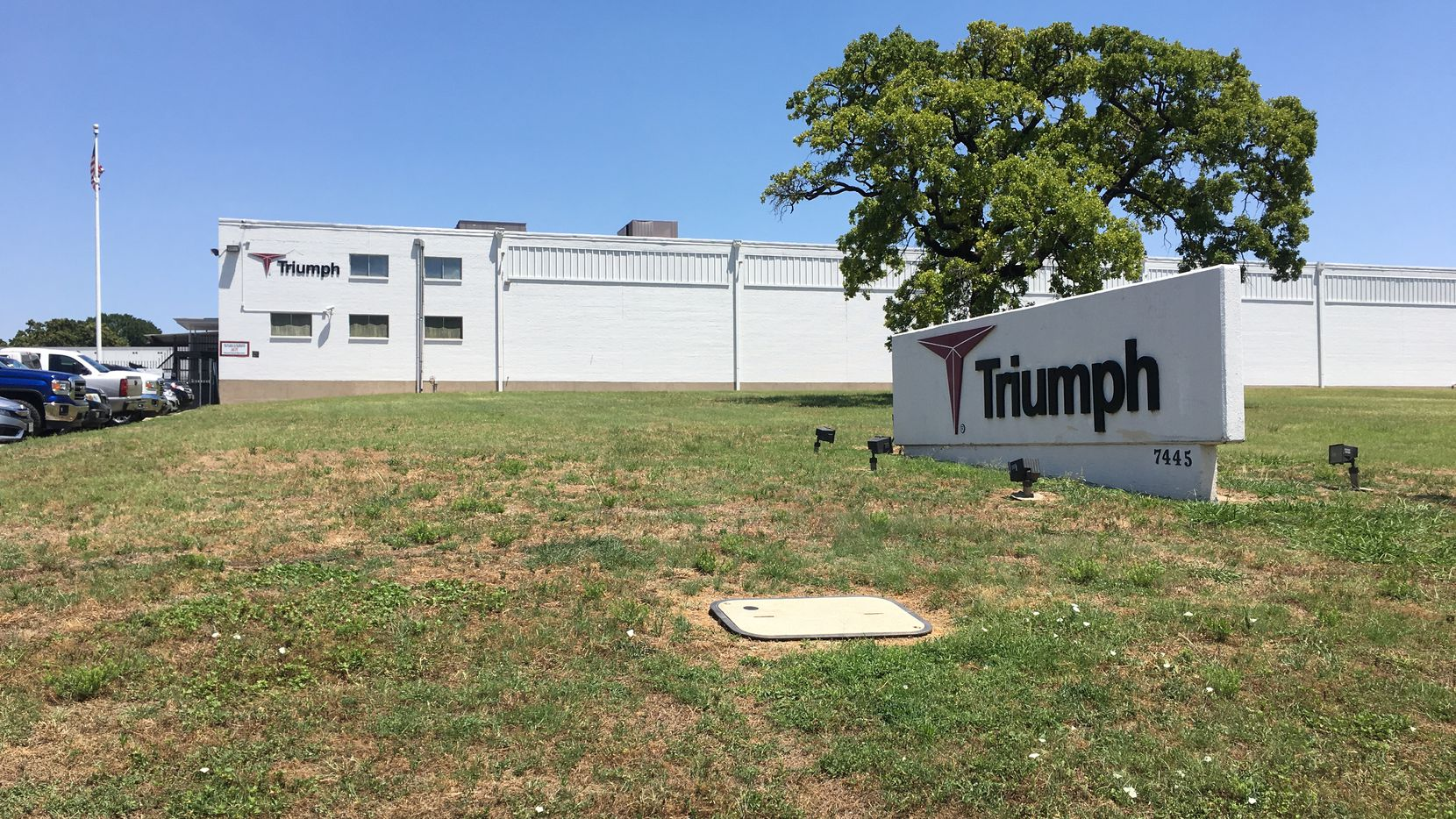 Triumph Group's fabrication site in Fort Worth is one of several locations being sold as part of a transaction announced Jan. 28, 2019.