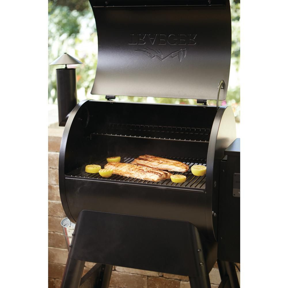 Technology inside the Traeger Pro 575 makes grilling and