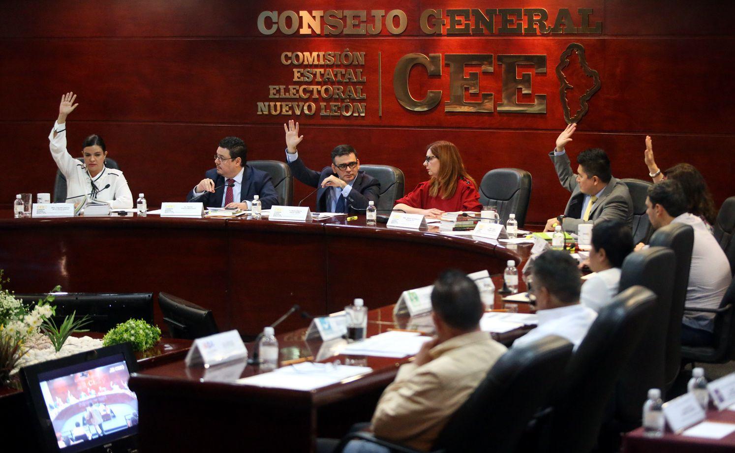 La comisión Estatal Electoral de Nuevo León aprobó incluir apodos en las boletas electorales. AGENCIA REFORMA