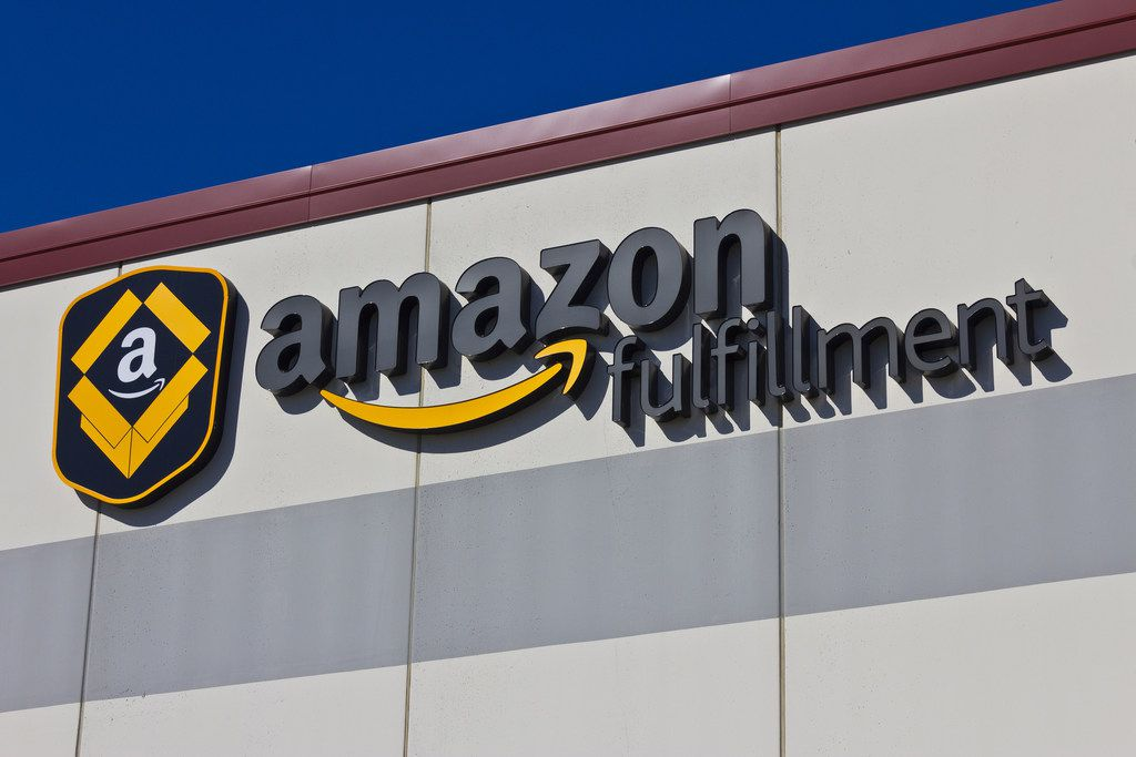 An Amazon fulfillment center in Indianapolis. An amnesty program run by 24 states is being offered to those who sell goods through Amazon but have not paid sales taxes.