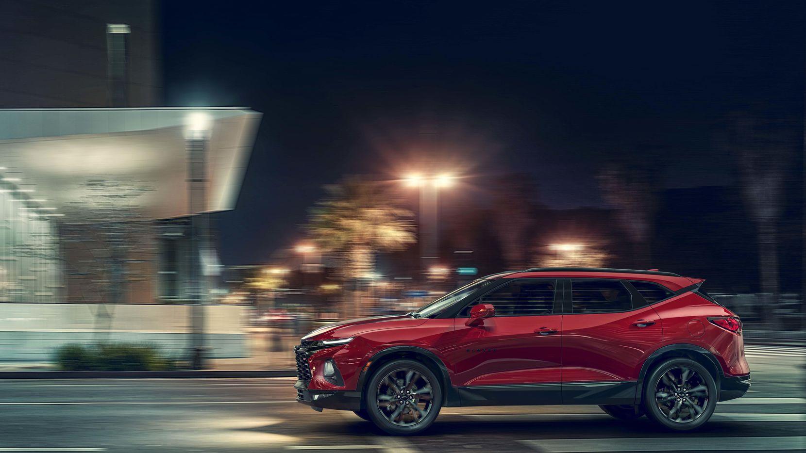 Una foto proporcionada por General Motors muestra el nuevo modelo de la Blazer.(AP)