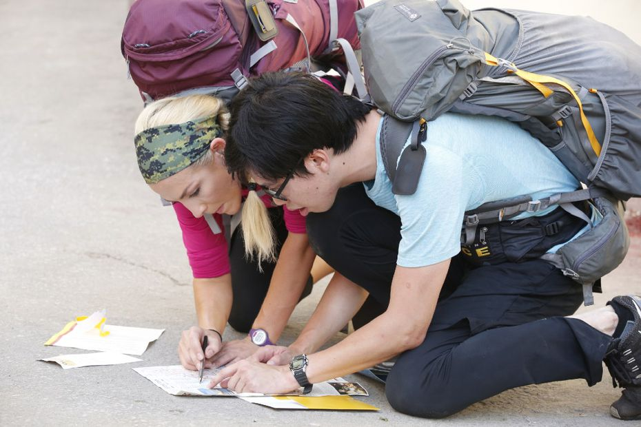 Contestants on 'The Amazing Race' engage in a series of challenges, trying to win $1 million.