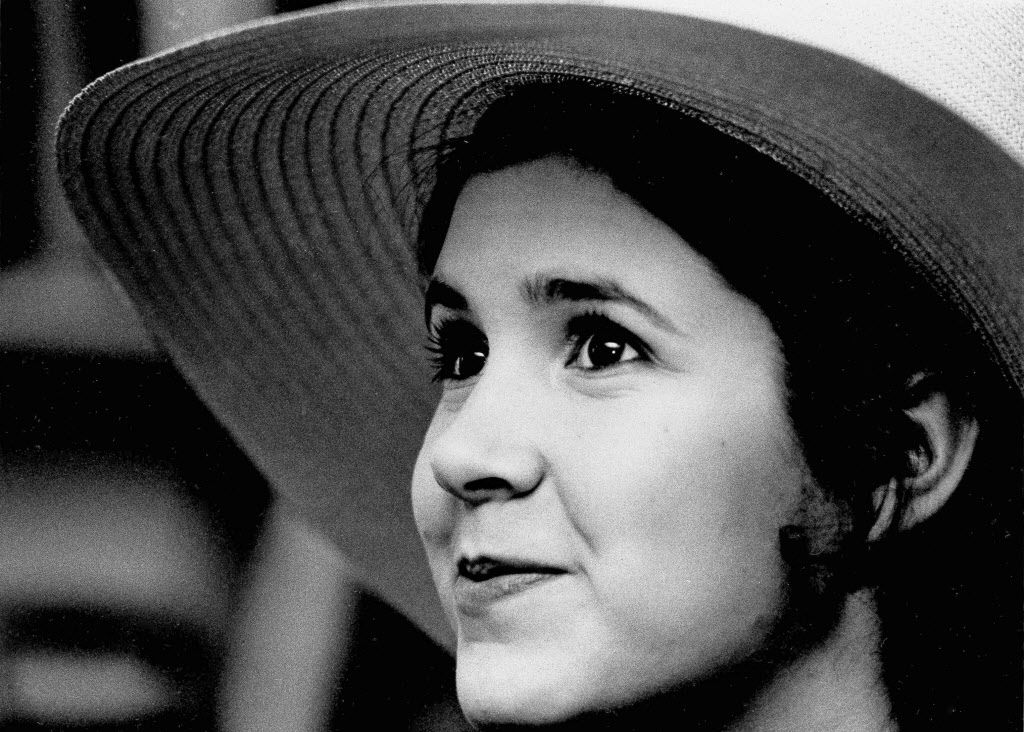 Carrie Fisher in 1973, age 16. (AP Photo/Jerry Mosey, File)