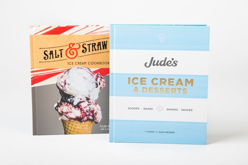 Salt & Straw Ice Cream Cookbook and Jude's Ice Cream & Desserts
