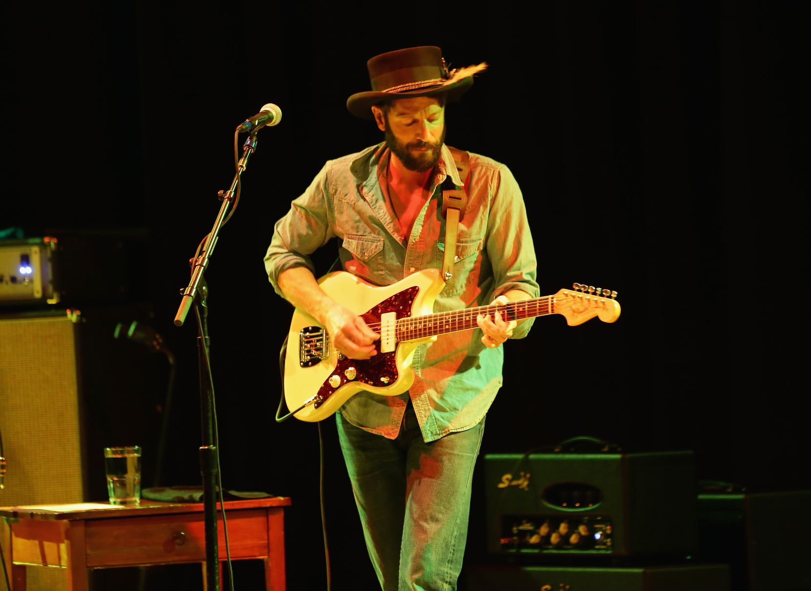 In this May 1, 2014 file photo, Ray LaMontagne performs at Town Hall in New York, N.Y.