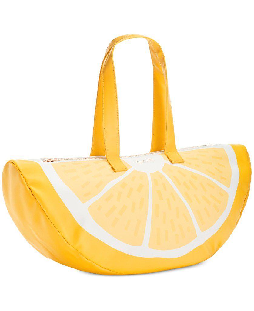 Ban.Do Super Chill lemon cooler bag, $32, bando.com