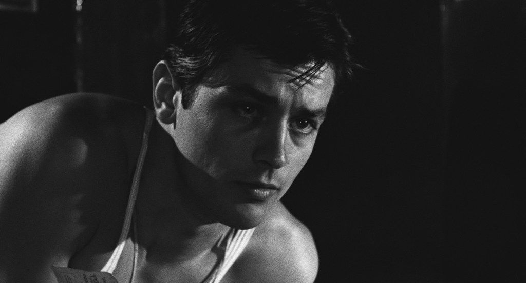 """Alain Delon in """"Rocco and his Brothers"""""""