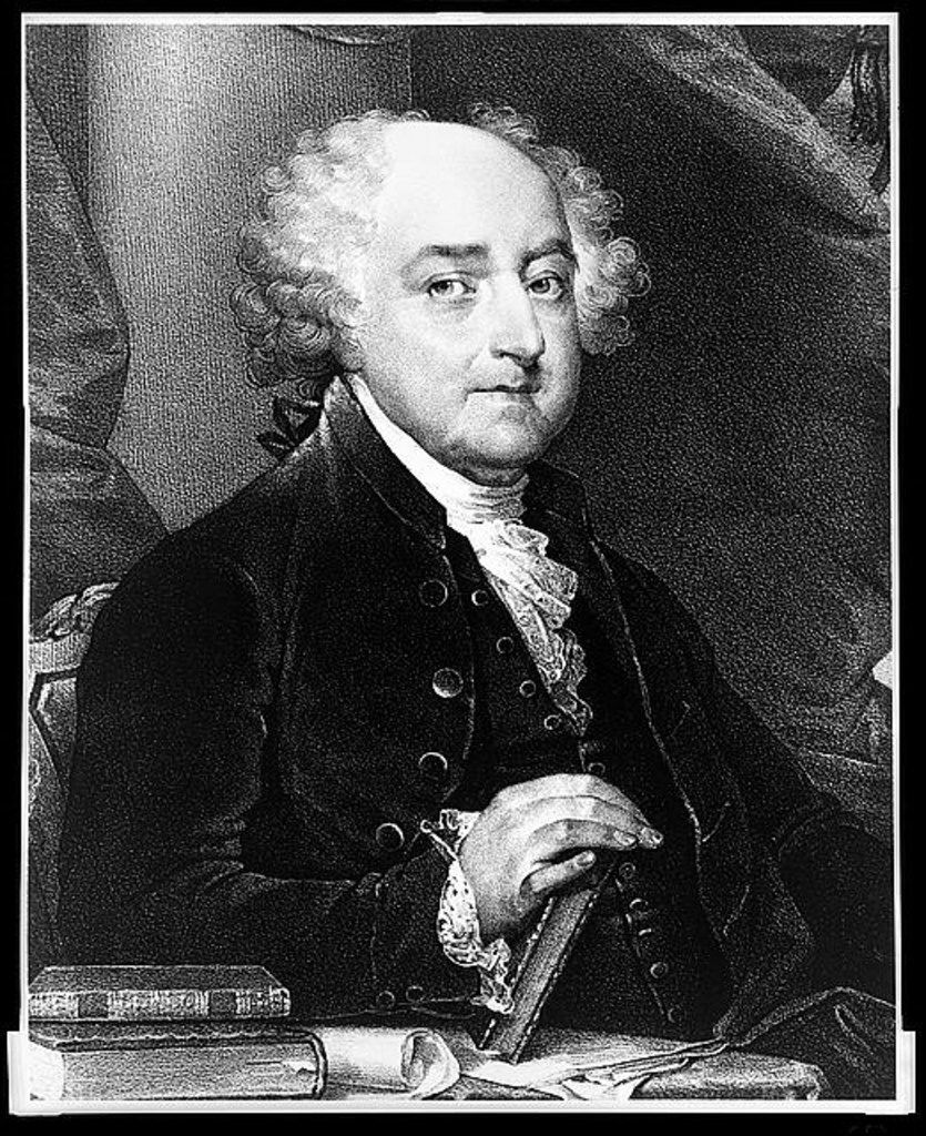 John Adams, the second president of the United States, 1797-1801