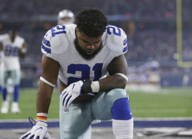 NFL llevará caso de Ezekiel Elliott de los Dallas Cowboys a la 5ta Corte de Circuito de Apelaciones. (AP Photo/Ron Jenkins)
