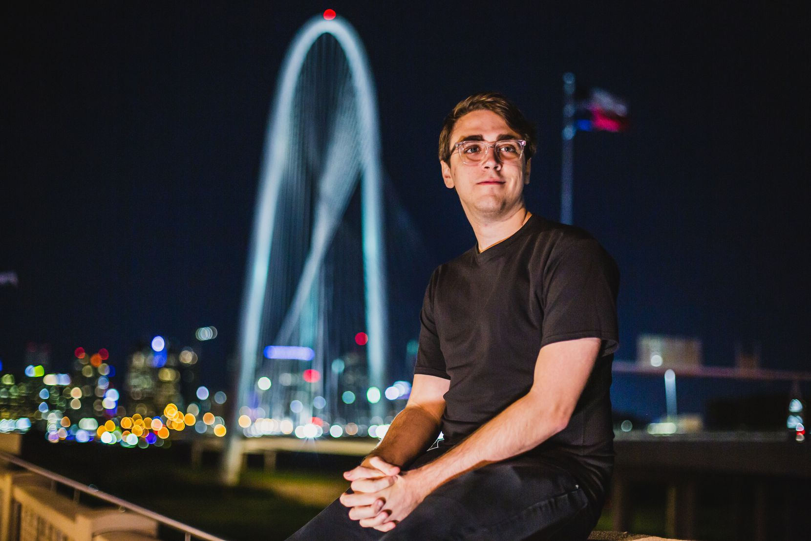 """Dallas Call of Duty League player James """"Clayster"""" Eubanks."""