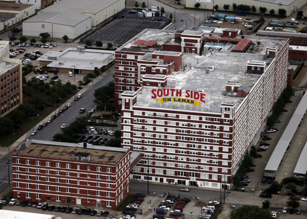 The South side on Lamar complex near downtown Dallas on May 1, 2010.