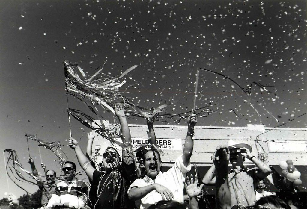 Several thousand attended the sixth annual Texas Freedom Parade in Oak Lawn on Sept. 24, 1989.