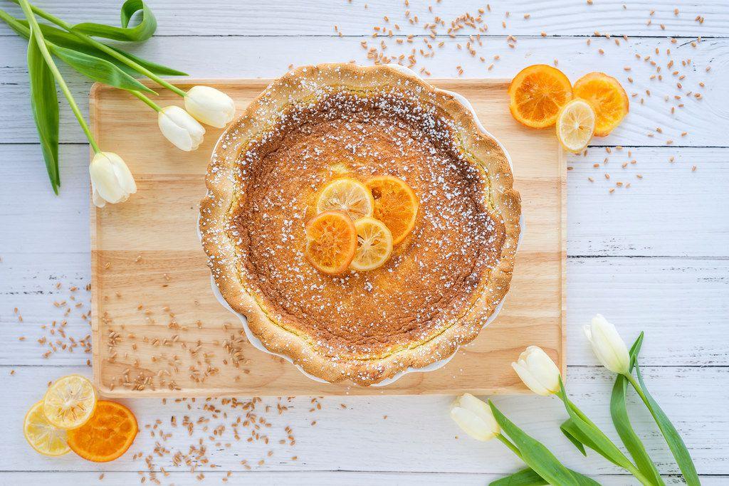 Easter Grain Pie