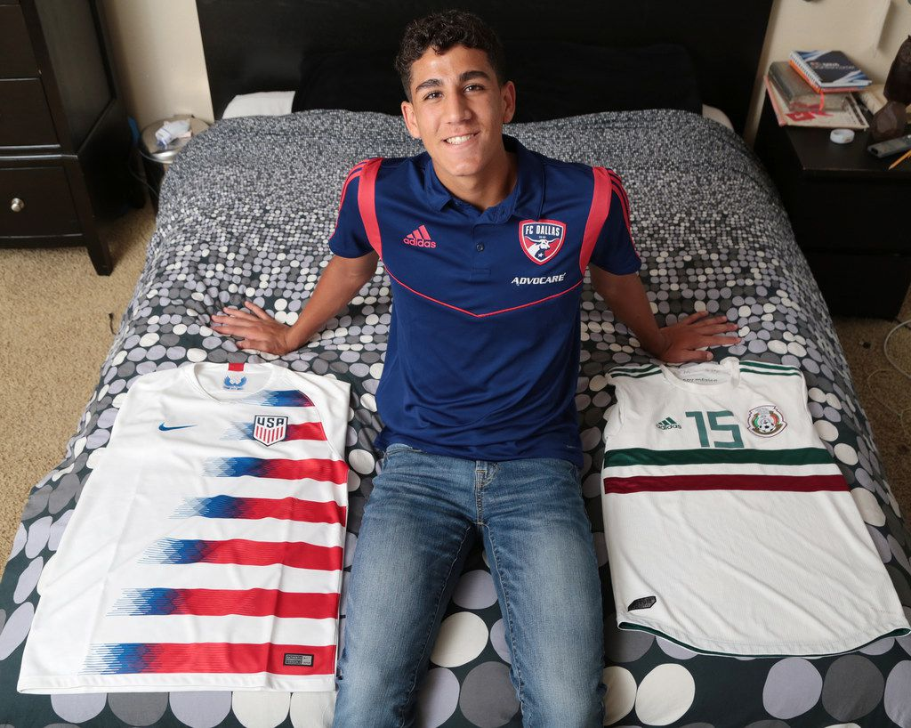 (PHOTO TAKEN 8/27/19) In a few days Nicolas Carrera from Frisco will announce whether he will represent the Mexico Team or the United States Team. (FOTO ESPECIAL PARA AL DIA/MARIA OLIVAS)