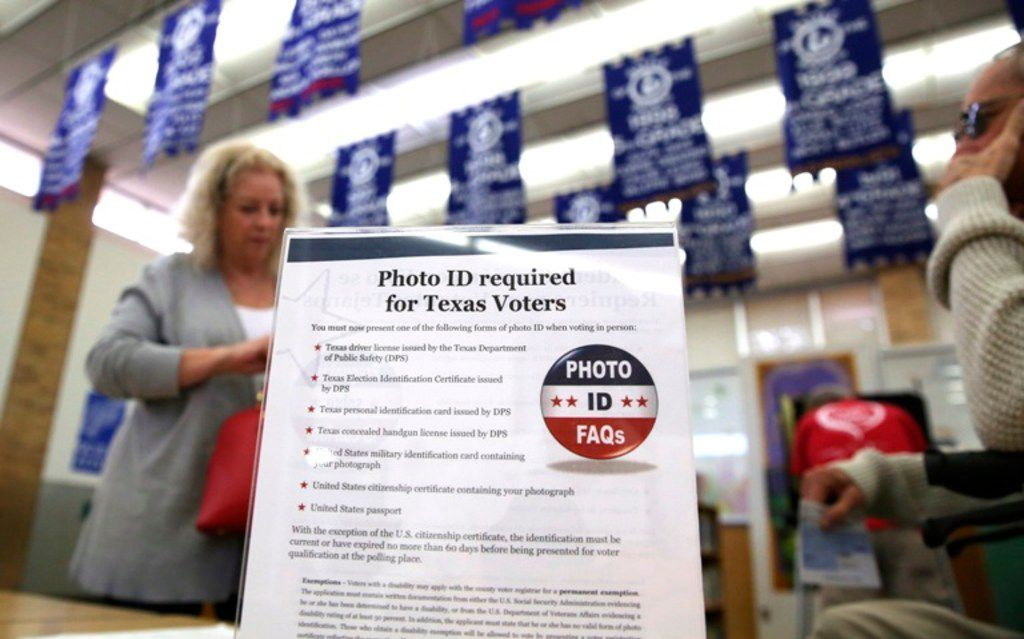 Voter ID laws and paper ballot backups for electronic voting machines command support from more than 80 percent of Texans but so do measures expanding ballot access, such as automatically updating voter rolls when people move, according to a poll by the nonpartisan group Texas Lyceum. Just more than two-thirds of Texans favor letting felons who have served their time vote, and 63% would make Election Day a national holiday.