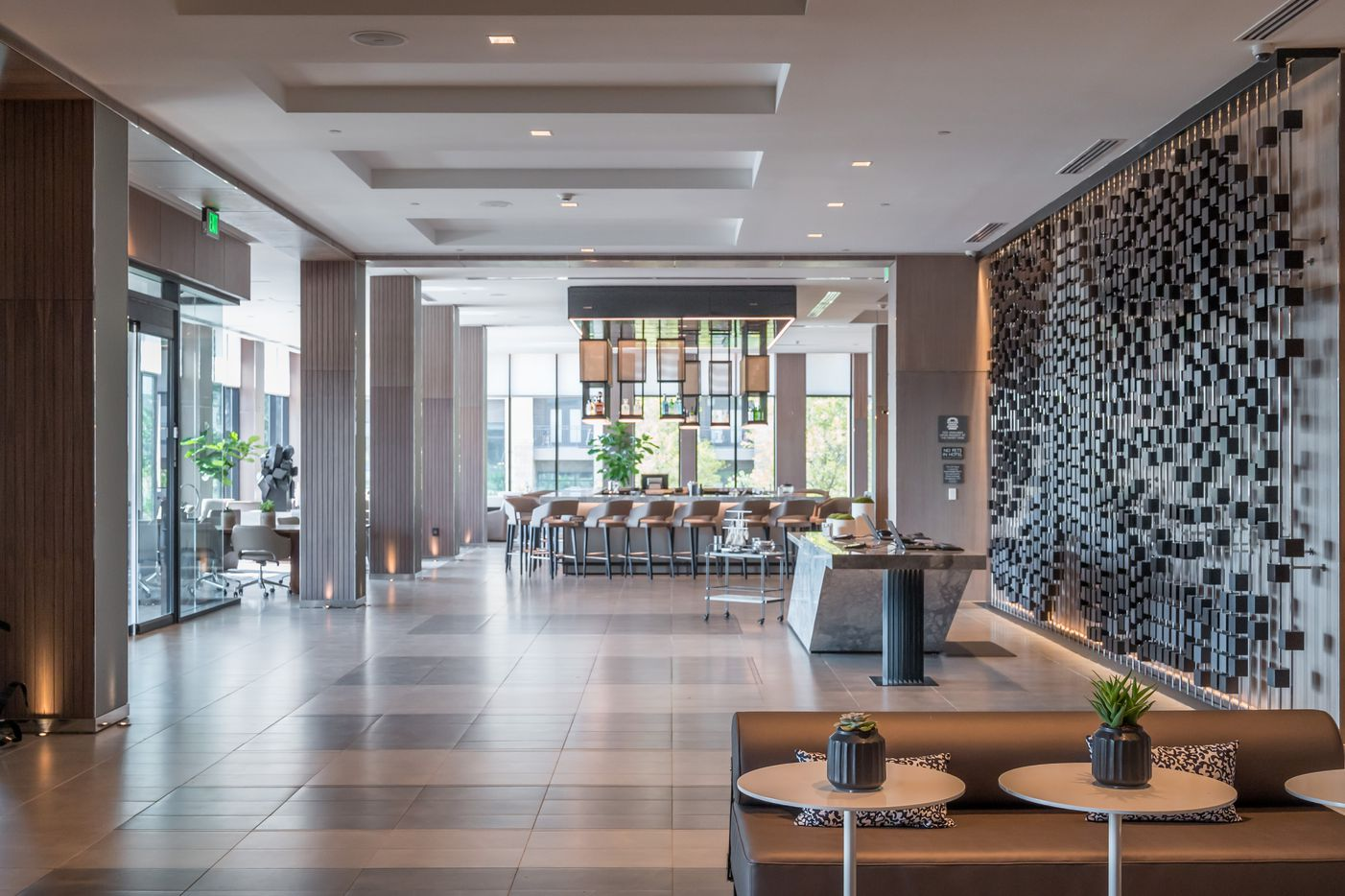 The new AC Hotel in Frisco Station opened last month.