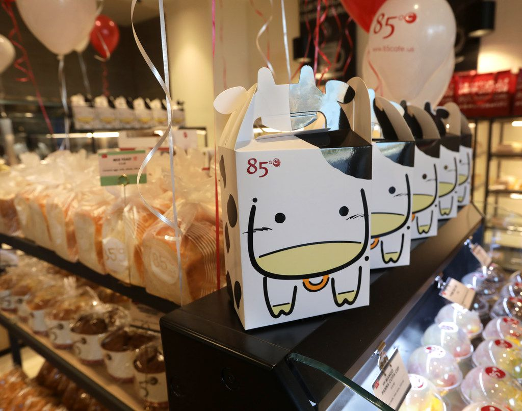 On Friday morning, 85°C Bakery had a line out the door when it ceremoniously opened at 9 a.m.