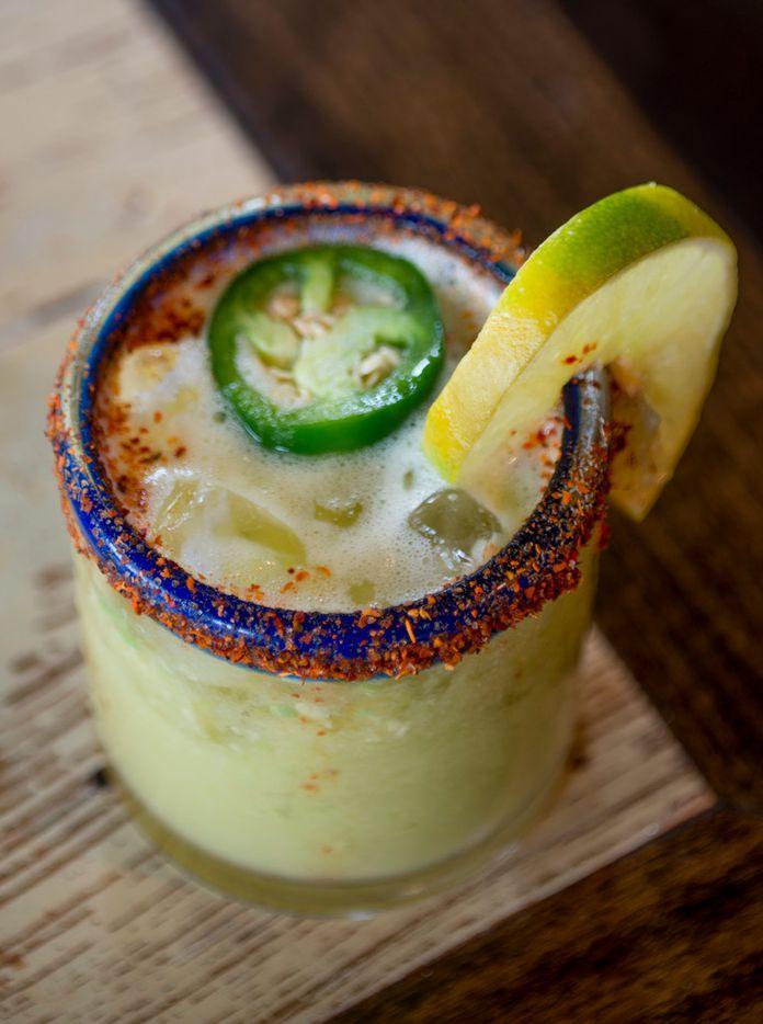The avocado margarita at Wild Salsa on February 16, 2019. (Robert W. Hart/Special Contributor)