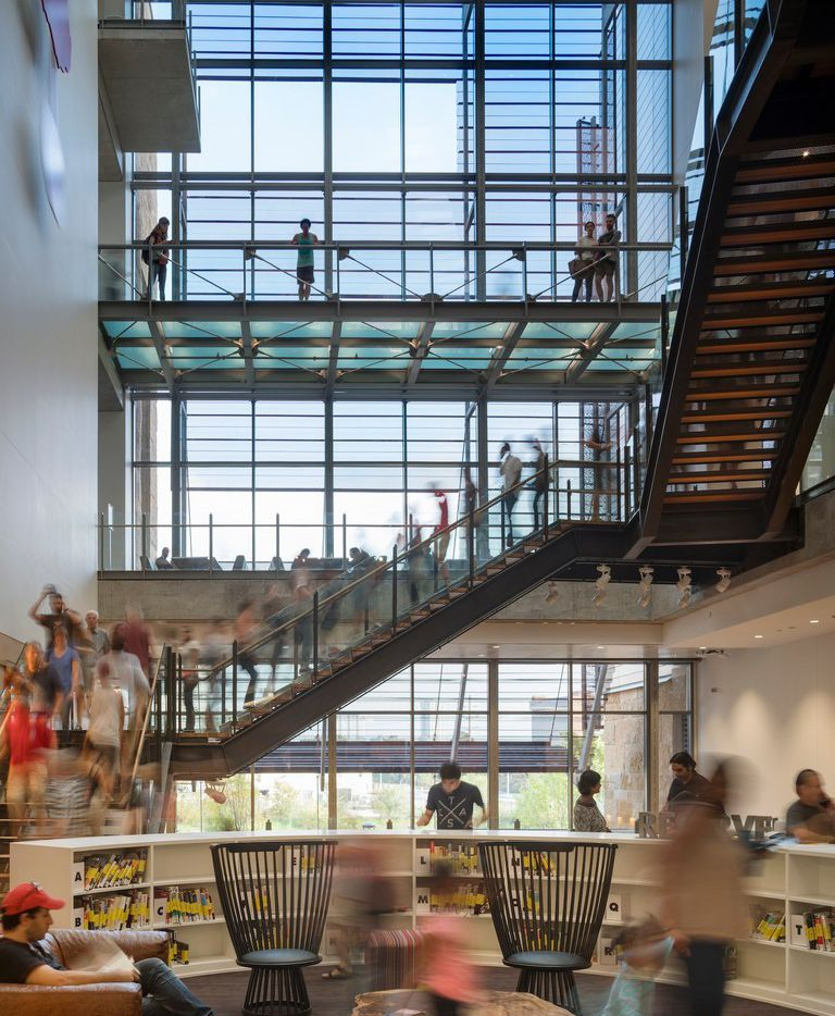Austin Central Library, Lake-Flato and Shepley-Bulfinch, architects.