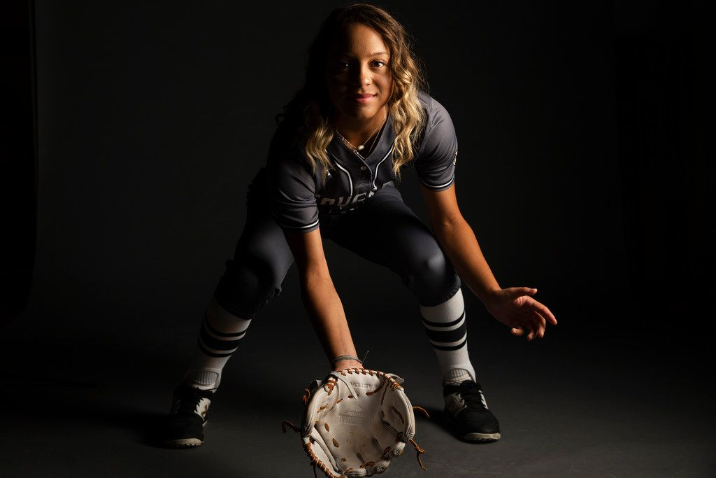 The Colony's Jayda Coleman was SportsDay's All-Area Softball Player of the Year.  (Shaban Athuman/Staff Photographer)