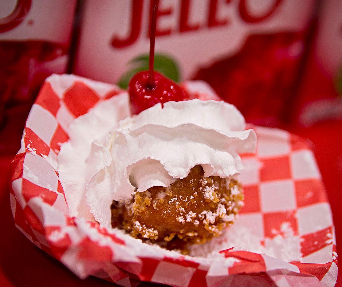 Fried Jell-O won Best Taste at the State Fair of Texas' Big Tex Choice Awards on Sunday.
