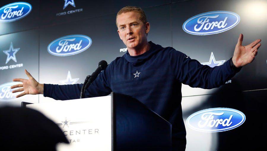 El contrato de Jason Garrett con los Dallas Cowboys finaliza al término de la próxima temporada. Foto DMN