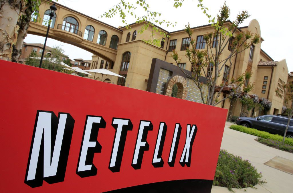 In this April 22, 2011 photo, the exterior of Netflix headquarters is shown in Los Gatos, Calif.