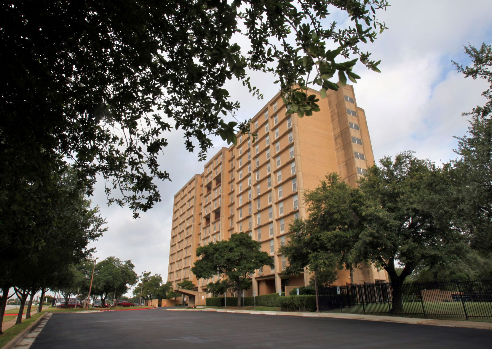 The Cliff Manor Apartments located on Fort Worth Avenue in Dallas is one of the properties the DHA has put in play.