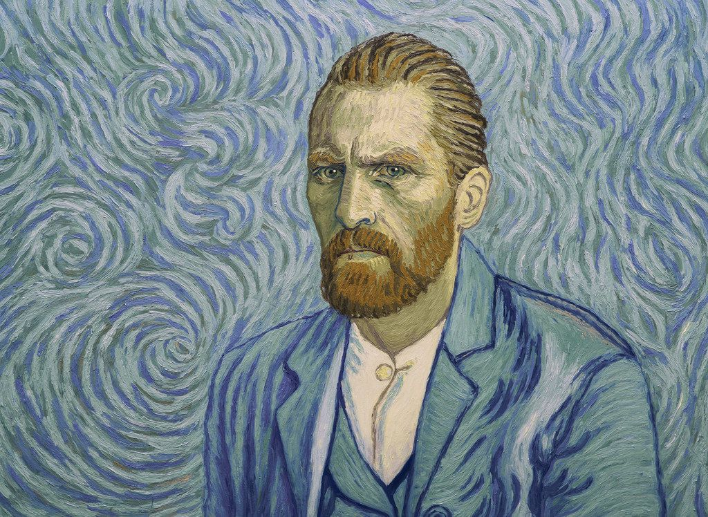 "Painter Vincent Van Gogh (voice of Robert Gulaczyk) in ""Loving Vincent,"" an animated film in which each frame is a painting created in the style of the artist."