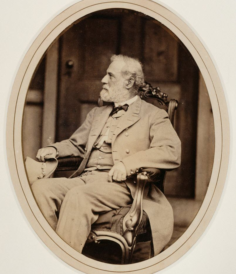 Although he was President Lincoln's choice to command the Union troops, Robert E. Lee felt a loyalty to his native Virginia.