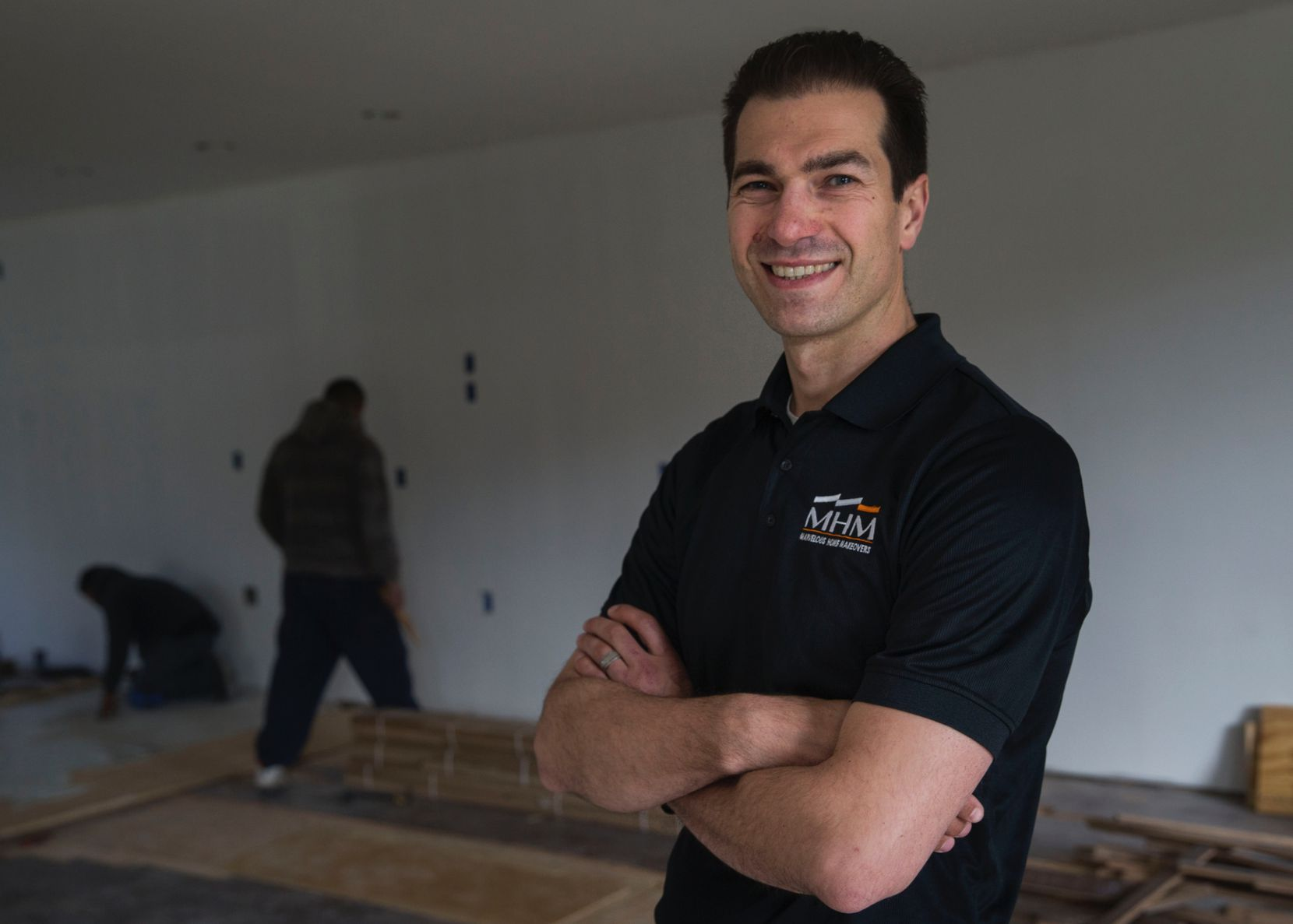Botond Laszlo, who heads the Dallas chapter of the National Association of the Remodeling Industry, owns Marvelous Home Makeovers.