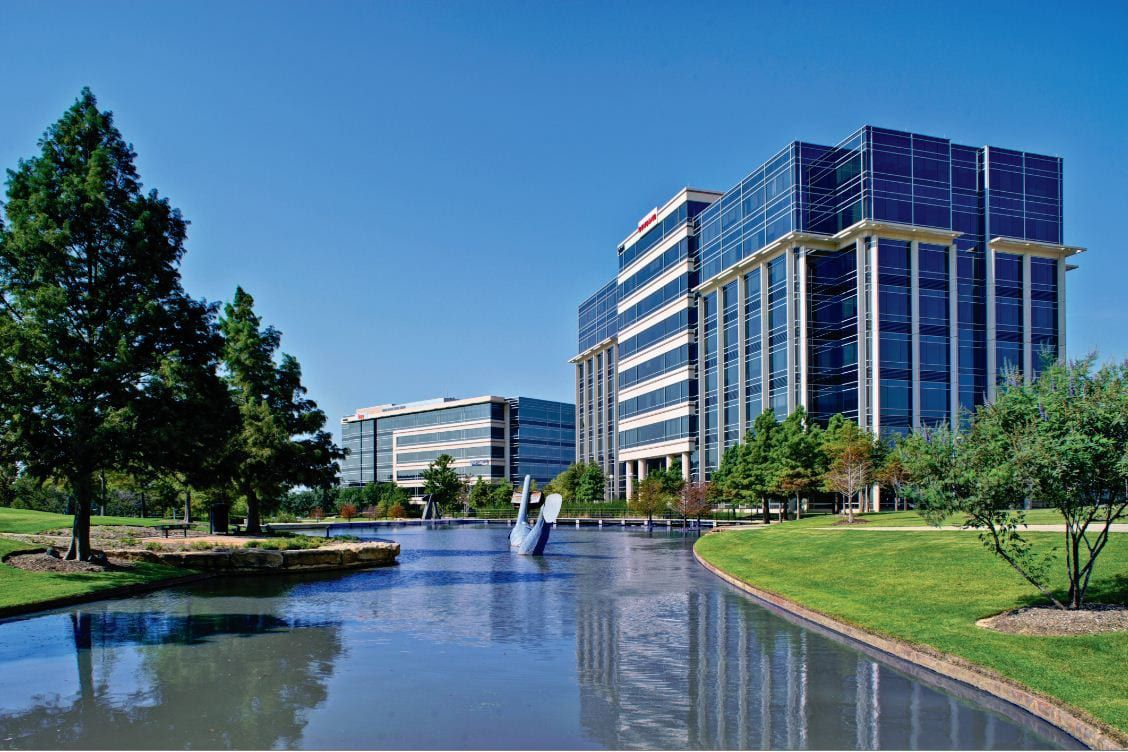 Quality Custom Distribution is moving to the 2801 Network building in Hall Park.