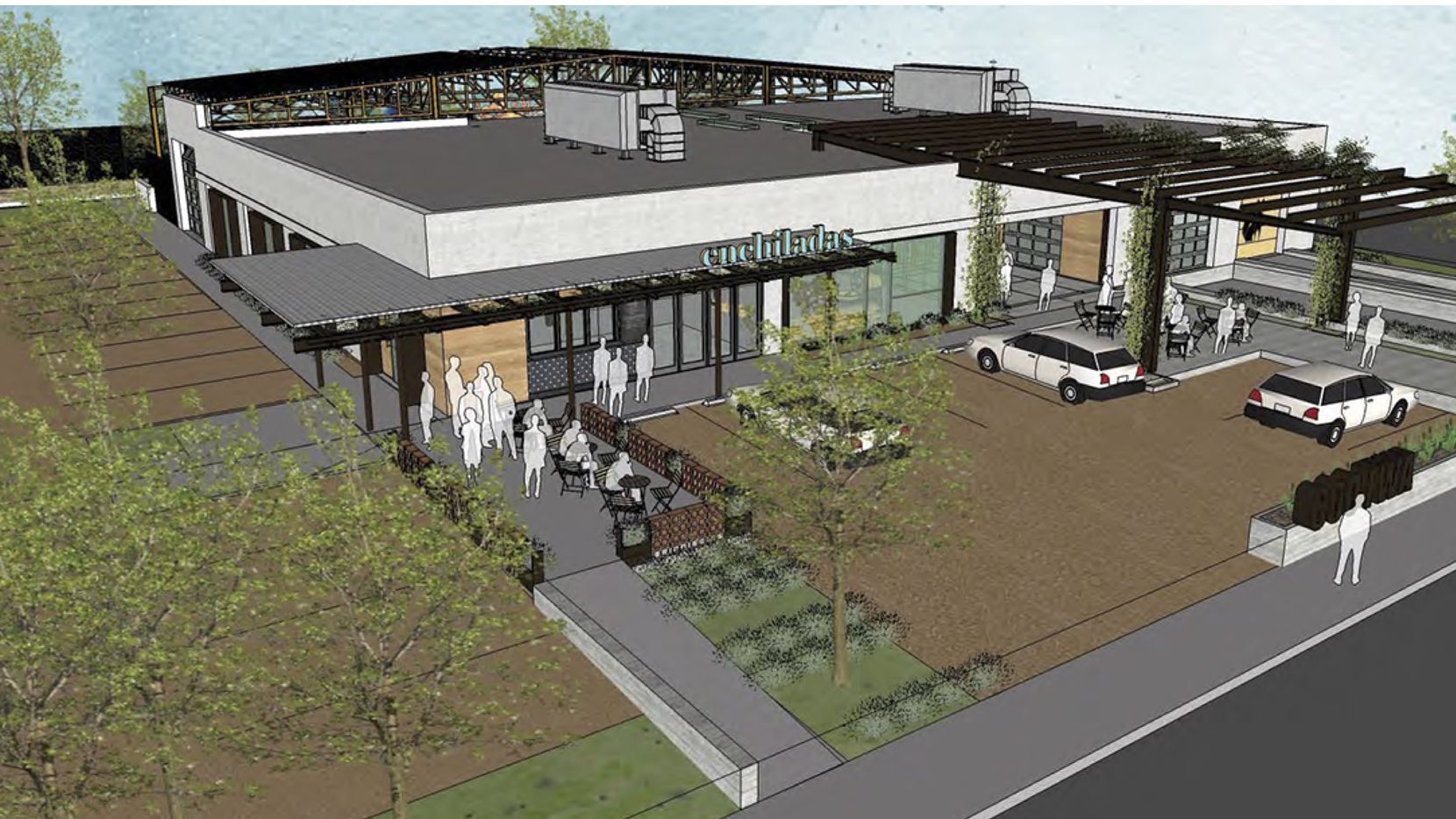 The Fort Worth Avenue redevelopment will include retail and restaurant space.