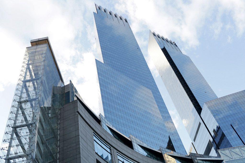 The Time Warner Center in New York. (Yana Paskova/The New York Times)