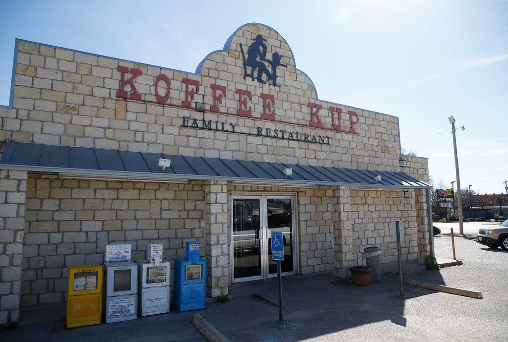 Koffee Kup Family Restaurant in Hico.