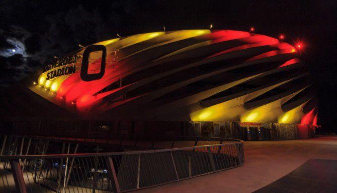 El Nagyardei Stadium en Hungría/AP