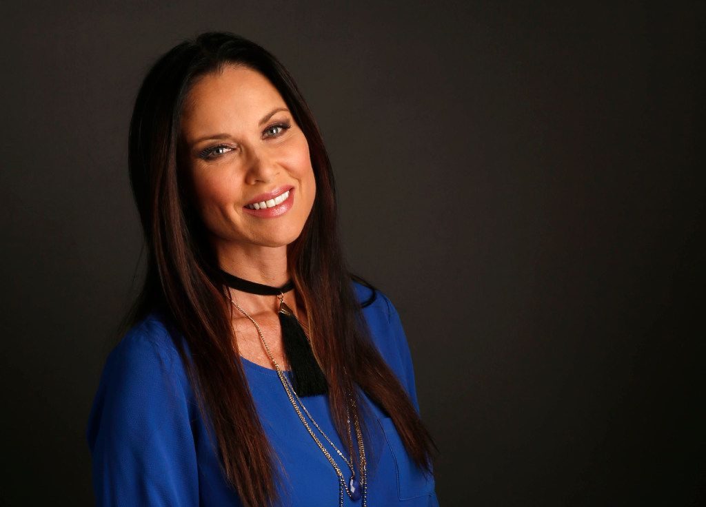 Real Housewives of Dallas' LeeAnne Locken poses for a portrait in the studio on Sunday, October 10, 2016. (Vernon Bryant/The Dallas Morning News)