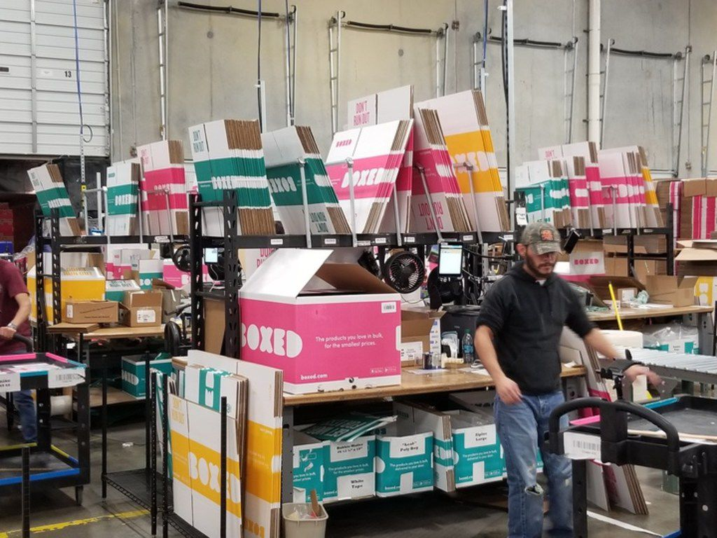 Boxed, a New York-based online retailer of bulk-size packages that competes with Costco and Sam's Club, opened its 75,000-square-foot fulfillment center in Flower Mound late last year. It's located at 501 Gerault Road.