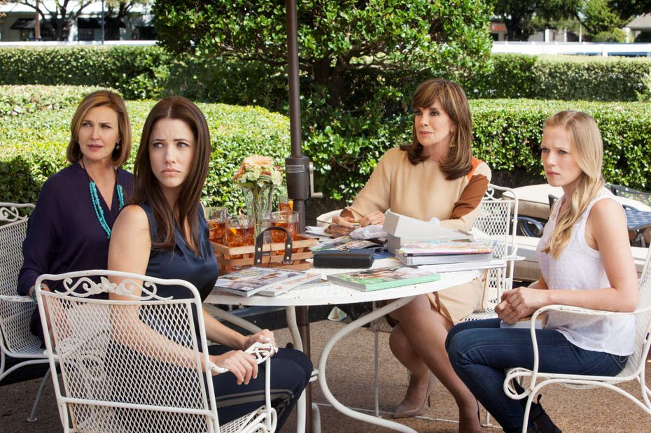 You can pretend you're Brenda Strong, Julie Gonzalo, Linda Gray or Emma Bell while you brunch on the Ewing's original patio set on April 2. (Take us, and we'll let you be Sue Ellen!)