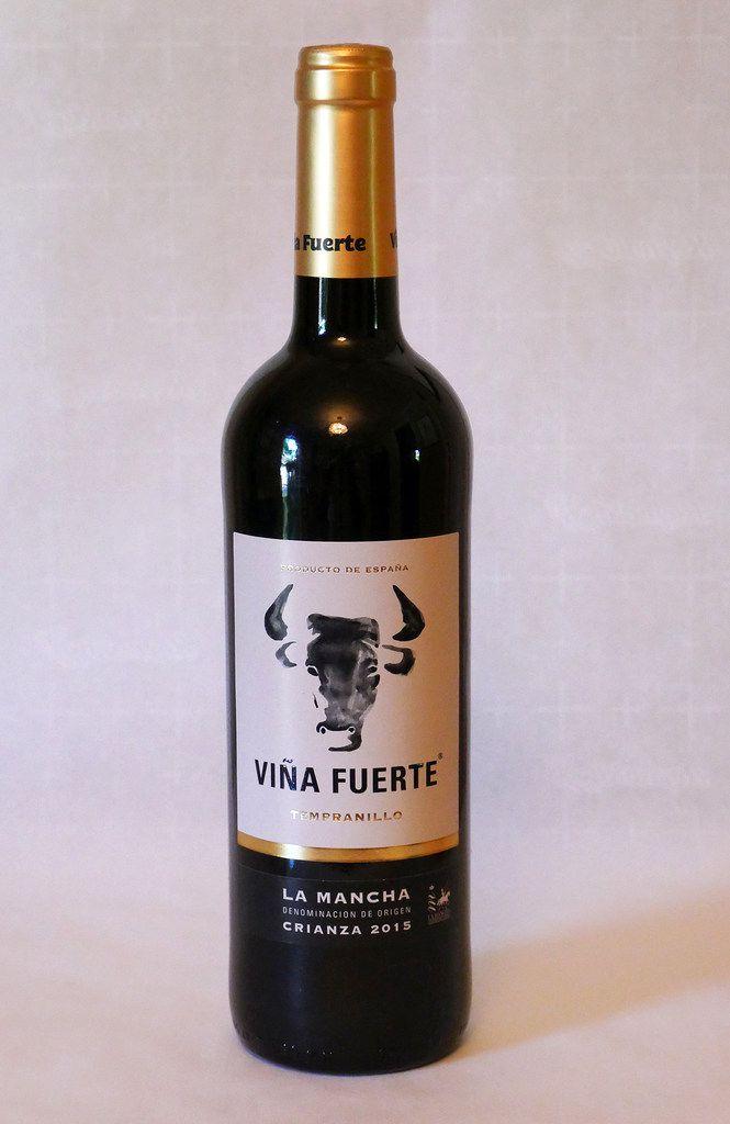 Vina Fuerte La Mancha Tempranillo (Spain)