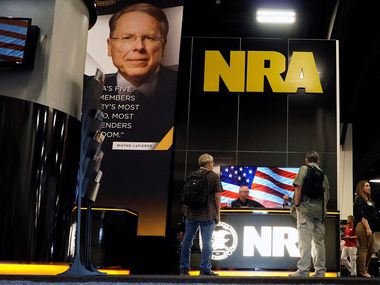 Gun lovers from all over came out to the NRA Personal Protection Expo at the Tarrant County Convention Center in Fort Worth, Texas on Friday, September 6, 2019. The pro-gun group and its state affiliate have funneled more than $700,000 into state campaigns in Texas in the past 19 years, but some wonder whether gun control talks could lead it to invest even more. (Lawrence Jenkins/Special Contributor)
