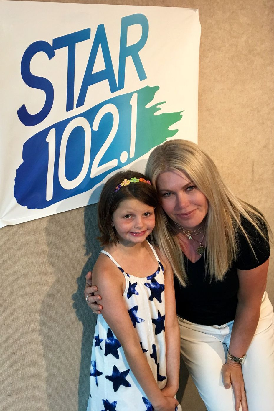 Leigh Ann Adam, the morning host of Star 102.1, heard about Hallie Barnard's struggle with DBA about a month ago. She planned a bone marrow swab drive with the station and Hallie's Heroes to try to find a bone marrow match to save Hallie's life.