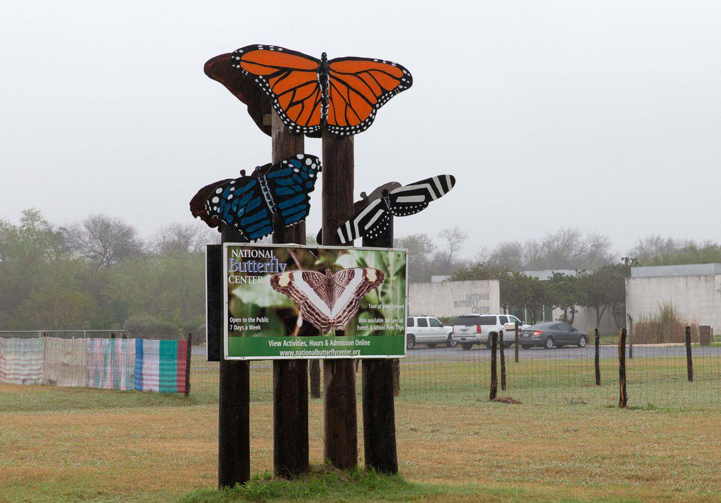 The entrance to the National Butterfly Center in Mission.