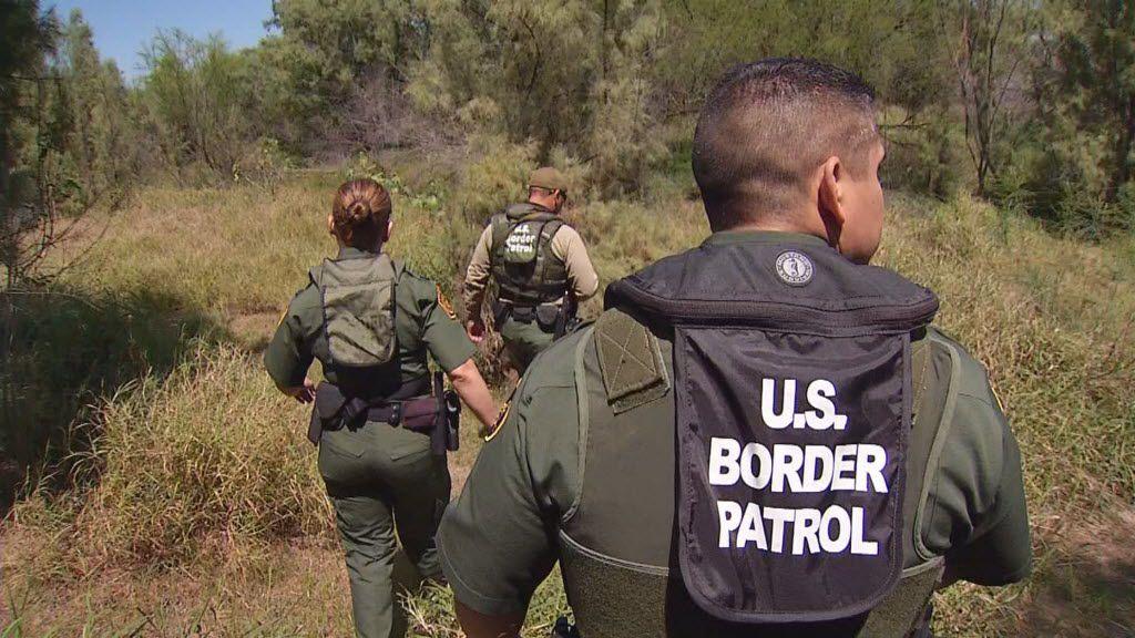 U.S. Border Patrol near the Texas-Mexico border