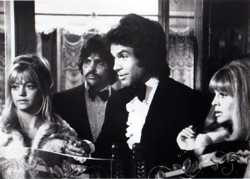 Goldie Hawn, Warren Beatty and Julie Christie in 1975'a 'Shampoo' (The Dallas Morning News Archives)