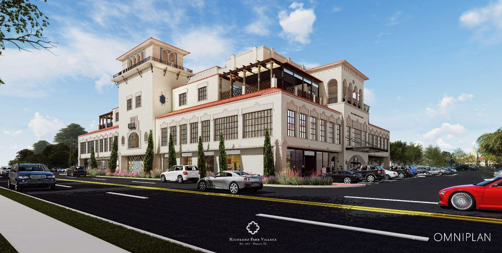 Starting in April 2017, Highland Park Village will start construction on a expansion of its building along Preston Road. It will add additional space to the third floor including a rooftop terrace. The 21,000 square feet of space on the second floor will be converted from office to retail. The building is expected to be done in mid-2018.