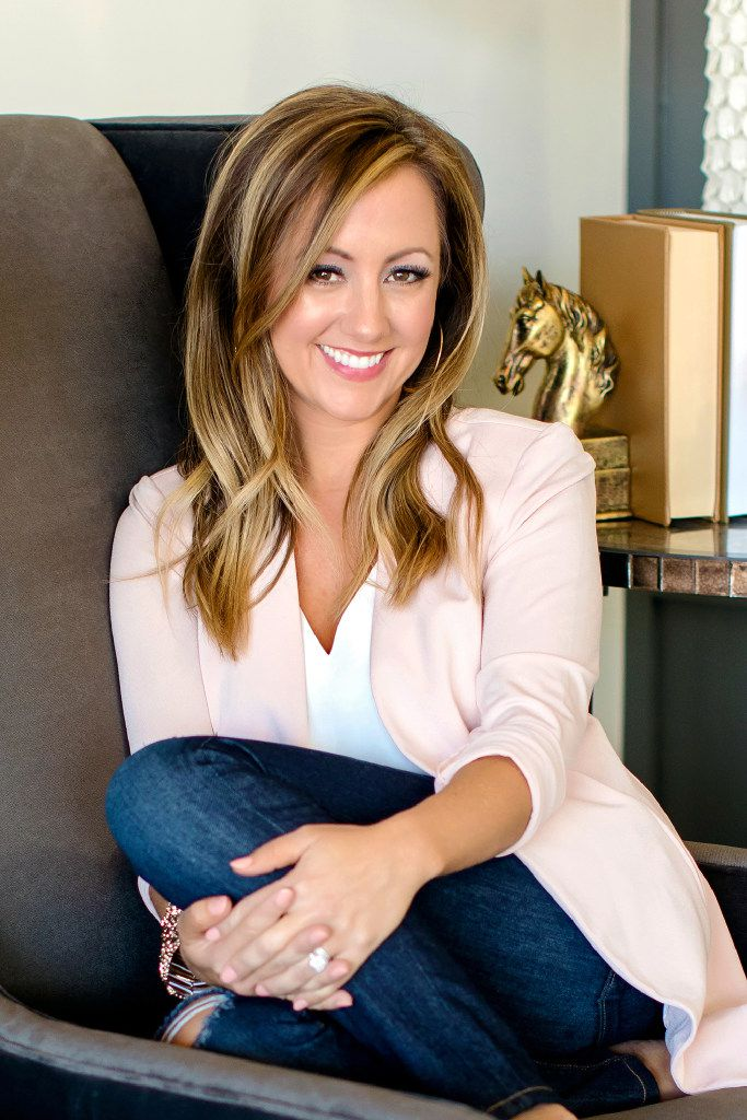 Dallas designer Emily Sheehan Hewett of A Well Dressed Home