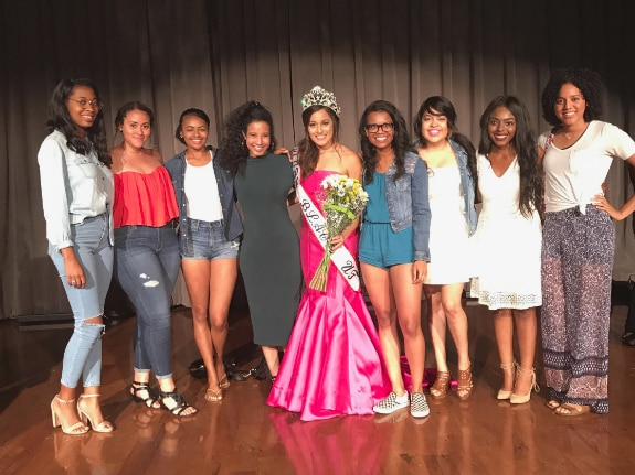 Rachael Malonson, a senior at the University of Texas, won the Miss Black University of Texas scholarship pageant