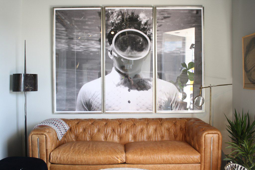 Try a triptych to showcase standout photography, the team at Scout Design Studio suggest.