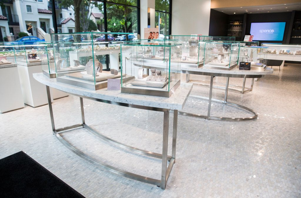 The showroom at Spence Diamonds on Thursday, May 23, 2019, at West Village shopping center in Dallas.